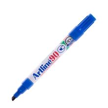 รูปภาพของ ปากกาเคมีหัวตัด ARTLINE EK-90 2.5มม. น้ำเงิน
