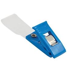 รูปภาพของ คลิบหนีบบัตรพลาสติก WIN ฟ้า (แพ็ค20ชิ้น)