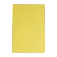 รูปภาพของ แฟ้มพับ ใบโพธิ์ 300 แกรม F4 สีเหลือง (แพ็ค 50 เล่ม)