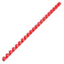 รูปภาพของ สันห่วงพลาสติก อิบีโก้10 มิลลิเมตร สีแดง (แพ็ค10 อัน)