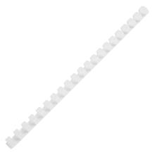 รูปภาพของ สันห่วงพลาสติก อิบีโก้22 มิลลิเมตร สีขาว (แพ็ค10 อัน)
