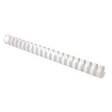 รูปภาพของ สันห่วงพลาสติก อิบีโก้28 มิลลิเมตร สีขาว (แพ็ค10 อัน)