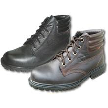 รูปภาพของ รองเท้านิรภัยหุ้มข้อ STUTTGART รุ่น SF-205 เบอร์ 5 สีดำ พื้นยาง ผูกเชือก