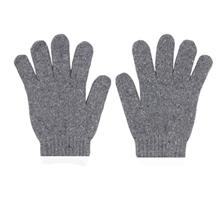 รูปภาพของ ถุงมือผ้าทอ 6 ขีด สีเทาขอบขาว (แพ็ค 12 คู่)