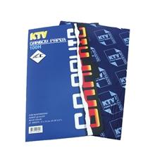 รูปภาพของ กระดาษคาร์บอน KTV Graphic 21x33ซม. น้ำเงิน (100แผ่น)