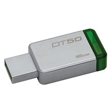 รูปภาพของ KINGSTON FLASH DRIVE 16 GB.(DT50/16GBFR)