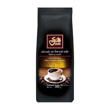 รูปภาพของ เมล็ดกาแฟคั่วโซเล่ คาเฟ่แบล็ค 500 กรัม