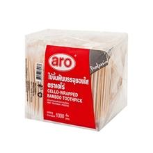 รูปภาพของ ไม้จิ้มฟัน บรรจุซองใส Aro แพ็ค 1,000 ชิ้น