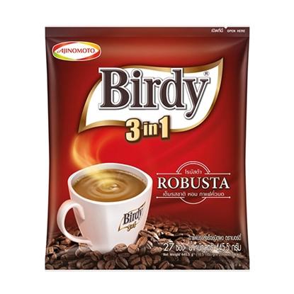 รูปภาพของ กาแฟปรุงสำเร็จชนิดซอง 3in1 เบอร์ดี้ โรบัสต้า 16.5 กรัม x 27 ซอง