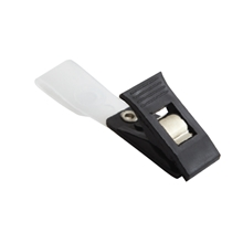 รูปภาพของ คลิบหนีบบัตรพลาสติก WIN ดำ (แพ็ค20ชิ้น)