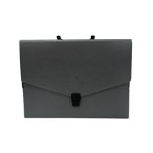 รูปภาพของ กระเป๋าพลาสติก ฟลามิงโก้ 946 A4 เทา