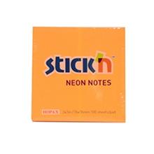 """รูปภาพของ กระดาษโน้ต สติก เอ็น นีออน 21164 3x3"""" สีส้ม"""