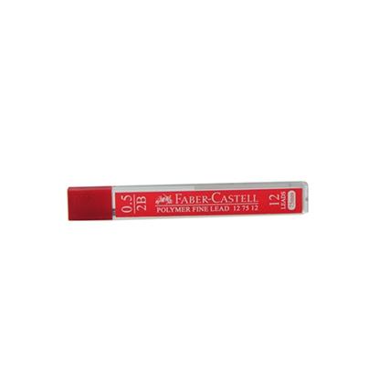 รูปภาพของ ไส้ดินสอ Faber-Castell  4J6627 0.5 มม. 2B (แพ็ค2หลอด)