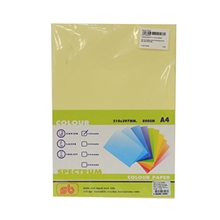 รูปภาพของ กระดาษสีถ่ายเอกสาร สเปคตรัม No.6 80/100 A4 สีเหลือง