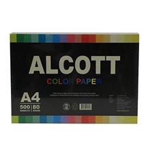 รูปภาพของ กระดาษสีถ่ายเอกสาร แอลคอท 80 แกรม A4 สีเหลืองอ่อน(500 แผ่น)