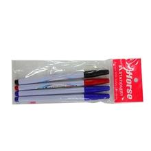 รูปภาพของ ปากกาสีเมจิก ตราม้า H-110 คละสี (แพ็ค4ด้าม)