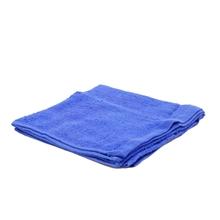 รูปภาพของ ผ้าขนหนู สีน้ำเงินไม่มีลาย ขนาด 15x30 นิ้ว