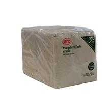 รูปภาพของ กระดาษเช็ดปากรีไซเคิล ตรา ARO ( 400 แผ่น ) ขนาด 33x33 ซม.