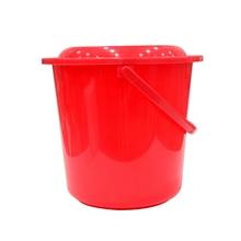 รูปภาพของ ถังน้ำพร้อมฝา หูหิ้ว สีแดง 17.7 ลิตร รุ่น 314+A-RD