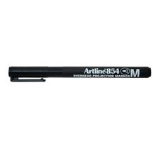 รูปภาพของ ปากกาเขียนแผ่นใส อาร์ทไลน์ EK-854 ลบไม่ได้ M 1 มม. สีดำ