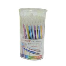 รูปภาพของ ปก.ลูกลื่น แลนเซอร์ Hot Color 144 0.5 มม. น้ำเงิน(กล่อง50ด้าม)