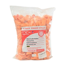 รูปภาพของ ถุงนิ้วแบบหนาป้องกันการบาด Size L สีส้ม (PAC 300 EA)
