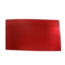 รูปภาพของ ฟิวเจอร์บอร์ด 65x122ซม. หนา 2 มม. สีแดง