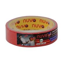 รูปภาพของ กระดาษกาวย่น Nuvo 1 นิ้ว x 10 หลา สีแดง