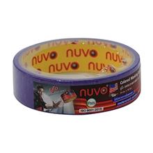 รูปภาพของ กระดาษกาวย่น Nuvo 1 นิ้ว x 10 หลา สีม่วง
