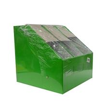 รูปภาพของ กล่องเอกสาร ไทย-ไท 3 ช่อง สีเขียว