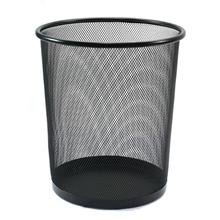 รูปภาพของ ถังขยะกลมฝาเปิด ออร์ก้า H-9661S ขนาดเล็ก (26.8 x 26.8 x 28.5 ซม.) สีดำ