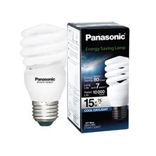 รูปภาพของ หลอดไฟ Eco-Spiral Panasonic EFDHV15D65T 15w (คลูเดย์ไลท์)
