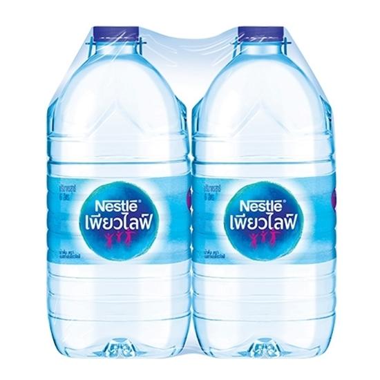 รูปภาพของ น้ำดื่ม NESTLE Pure Life 6 ลิตร (แพ็ค 2 ขวด)