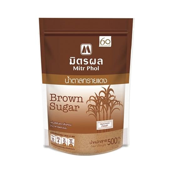 รูปภาพของ น้ำตาลทรายแดง มิตรผล ขนาด 500 กรัม (เฉาก๊วย)