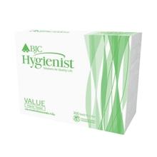 รูปภาพของ กระดาษเช็ดมือ BJC Hygienist Value 1 ชั้น 300 แผ่น (แพ็ค 24 ห่อ)