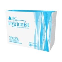 รูปภาพของ กระดาษเช็ดมือแบบแผ่น BJC Hygienist Special 250 แผ่น (แพ็ค 24 ห่อ)