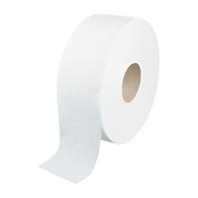 รูปภาพของ กระดาษชำระม้วนใหญ่คิมซอฟท์JRT 1ply 620m (กล่อง 12 ม้วน)