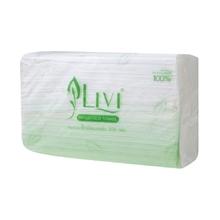 รูปภาพของ กระดาษเช็ดมือ Livi 300 1ชั้น บรรจุ 300 แผ่น