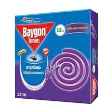 รูปภาพของ ยาจุดกันยุง ไบกอน แบบขด กลิ่นดอกลาเวนเดอร์ แพ็ค 6 กล่อง