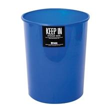 รูปภาพของ ถังขยะกลมไม่มีฝา สแตนดาร์ด RW9072 (5 ลิตร) สีน้ำเงิน