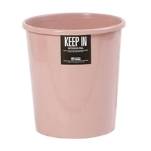 รูปภาพของ ถังขยะกลมไม่มีฝา สแตนดาร์ด RW9074 (12 ลิตร) สีชมพู