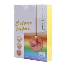 รูปภาพของ กระดาษสีถ่ายเอกสาร SB No.A3 80/500 A4 สีเหลือง