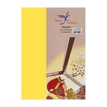 รูปภาพของ กระดาษสีถ่ายเอกสาร ฟลายอิ้ง No.22 120/100 A4 สีเหลืองส้ม