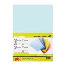 รูปภาพของ กระดาษสีถ่ายเอกสาร สเปคตรัม No.1 80/500 A4 สีฟ้า