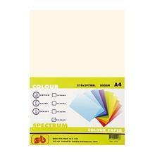 รูปภาพของ กระดาษสีถ่ายเอกสาร สเปคตรัม No.10 80/500 A4 สีครีม