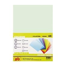 รูปภาพของ กระดาษสีถ่ายเอกสาร สเปคตรัม No.2 80/500 A4 สีเขียว