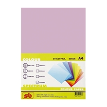 รูปภาพของ กระดาษสีถ่ายเอกสาร สเปคตรัม No.3 80/500 A4 สีม่วง