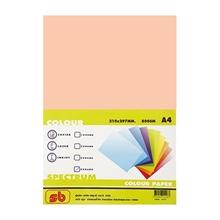 รูปภาพของ กระดาษสีถ่ายเอกสาร สเปคตรัม No.4 80/500 A4 สีโอรส