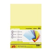 รูปภาพของ กระดาษสีถ่ายเอกสาร สเปคตรัม No.6 80/500 A4 สีเหลือง