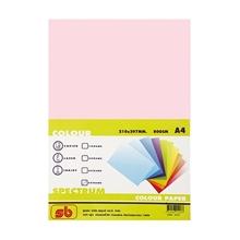 รูปภาพของ กระดาษสีถ่ายเอกสาร สเปคตรัม No.8 80/500 A4 สีชมพู